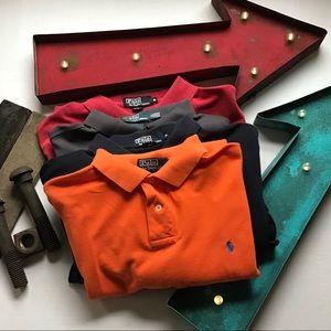 Lot of 4 Men's XL Ralph Lauren Polo Shirts